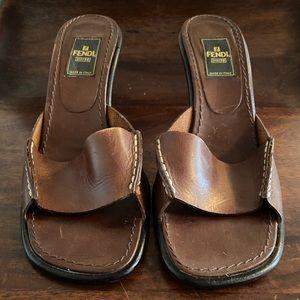 Vintage Fendi Heel